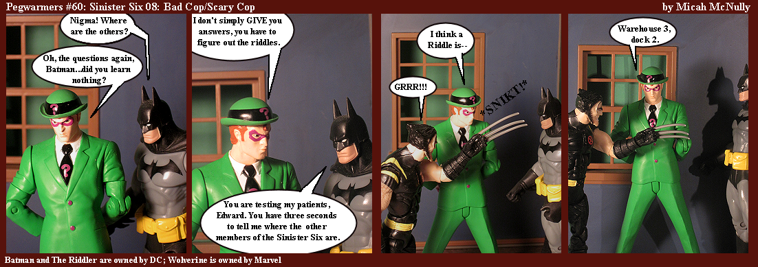 60. Sinister Six 08: Bad Cop/Scary Cop