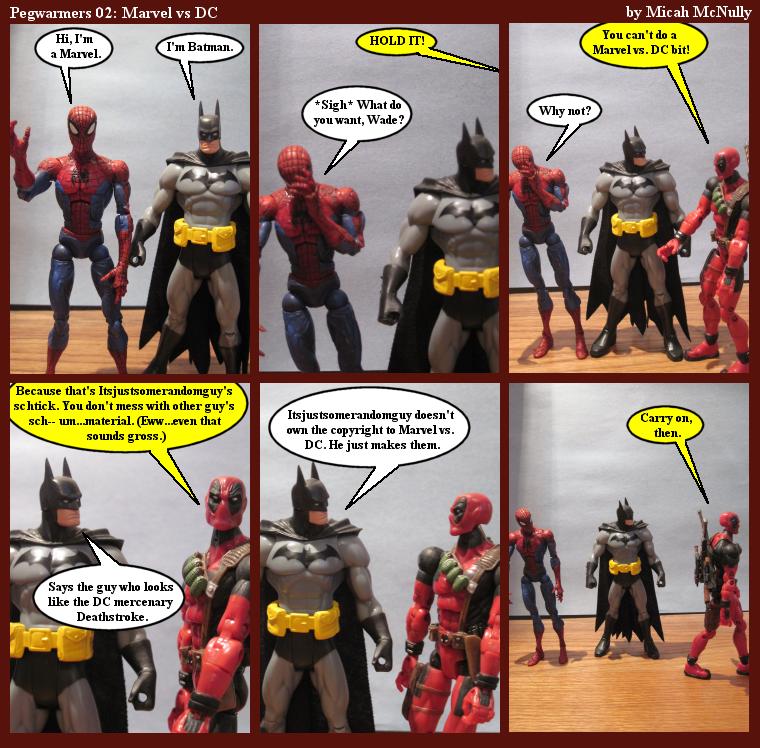 02. Marvel vs. DC
