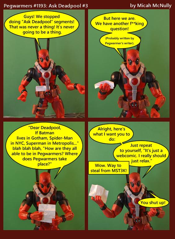 1193. Ask Deadpool #3