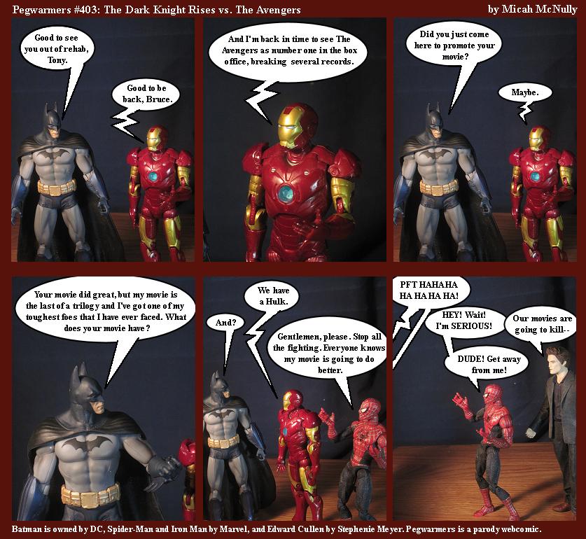 403. The Dark Knight Rises vs. The Avengers