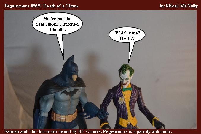 565. Death of a Clown