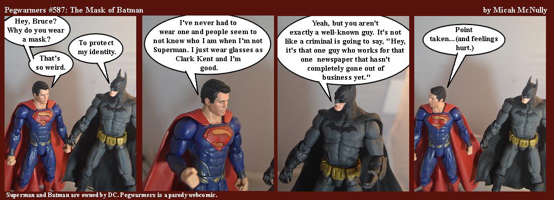 587. The Mask of Batman