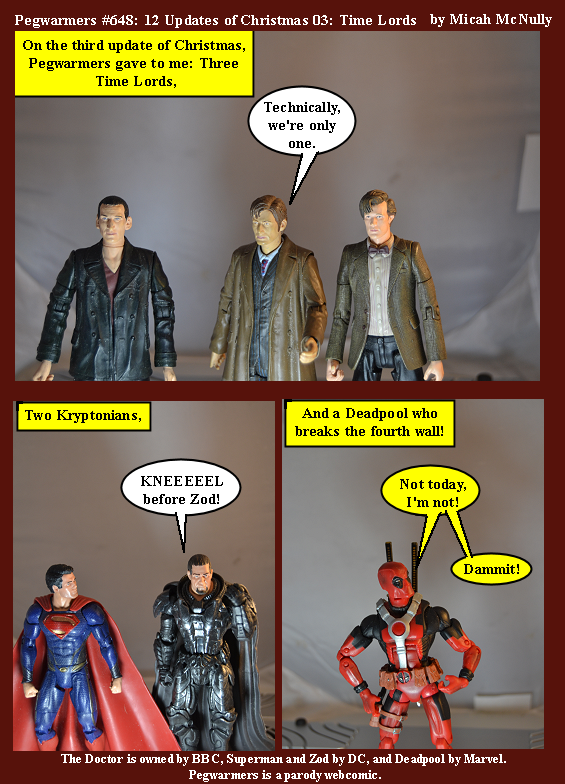 648. 12 Updates of Christmas 03: Time Lords