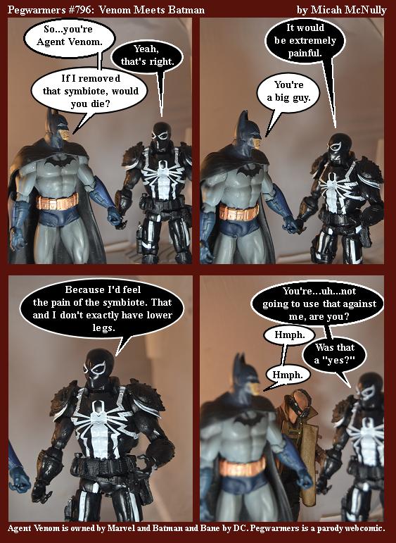 796. Venom Meets Batman