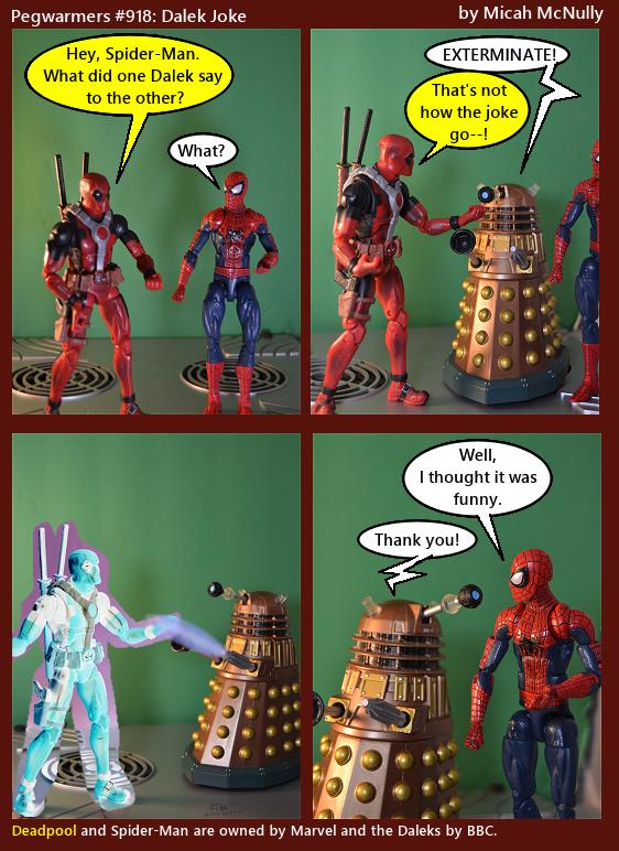 918. Dalek Joke